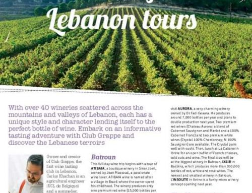 Taste of Lebanon tours